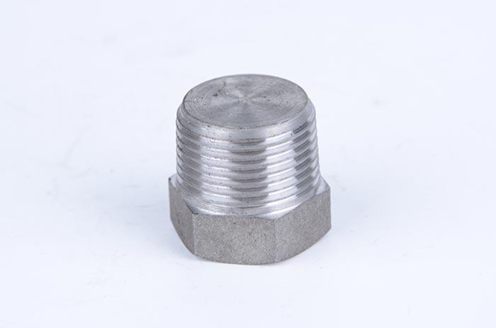 304不锈钢外丝堵头管