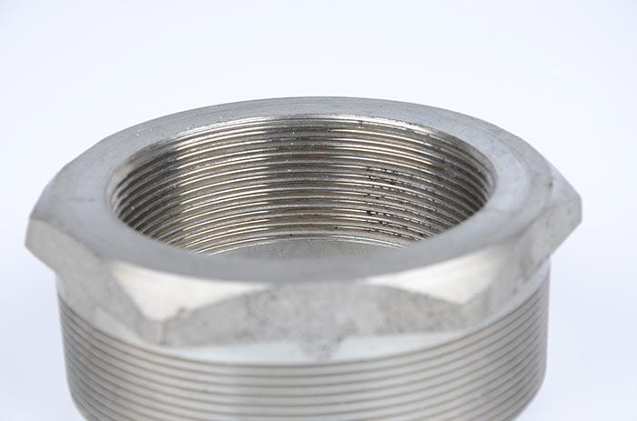 304内外丝不锈钢补心变径接头
